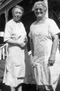 Harriett A Bennett & Ellen S Wright