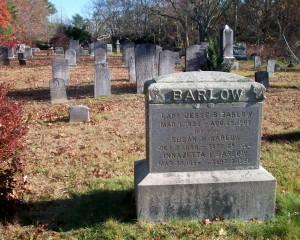Capt Jesse B Barlow Headstone