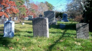 Anna C, Nathaniel, Jr & Josiah T Wing Headstones