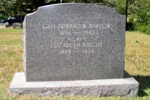 Capt Edward W & Elizabeth Wright Barlow