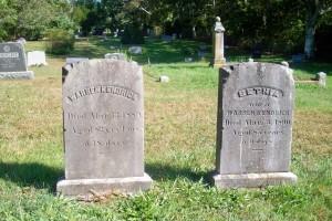 Warren & Bethia Kendrick Headstones